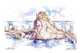波立海岸 弁天島