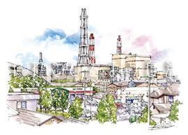 東田町からの眺め